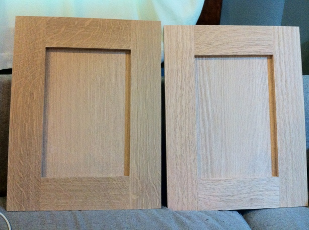 making a cabinet